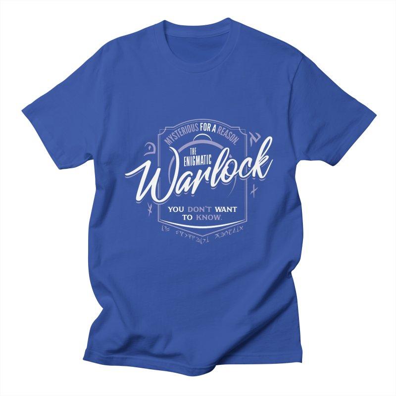D&D Warlock Men's Regular T-Shirt by carlhuber's Artist Shop