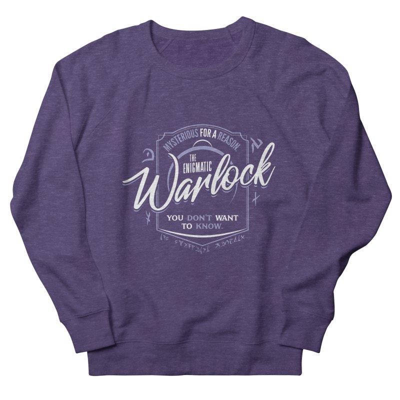 D&D Warlock Women's French Terry Sweatshirt by carlhuber's Artist Shop