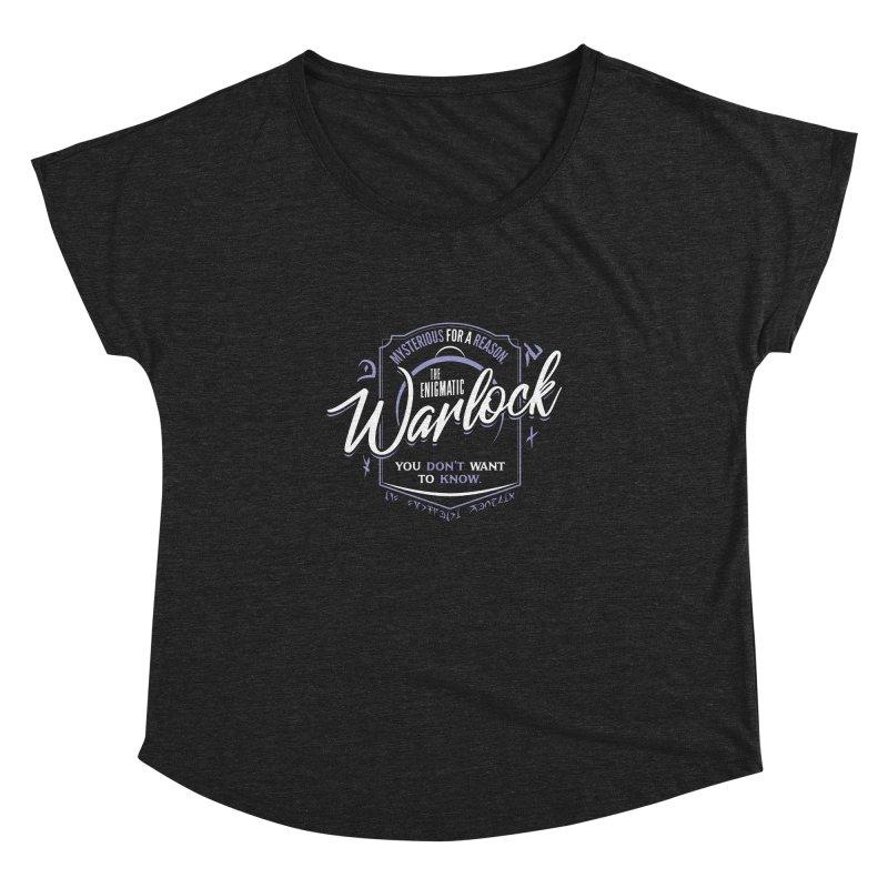 D&D Warlock Women's Dolman Scoop Neck by carlhuber's Artist Shop