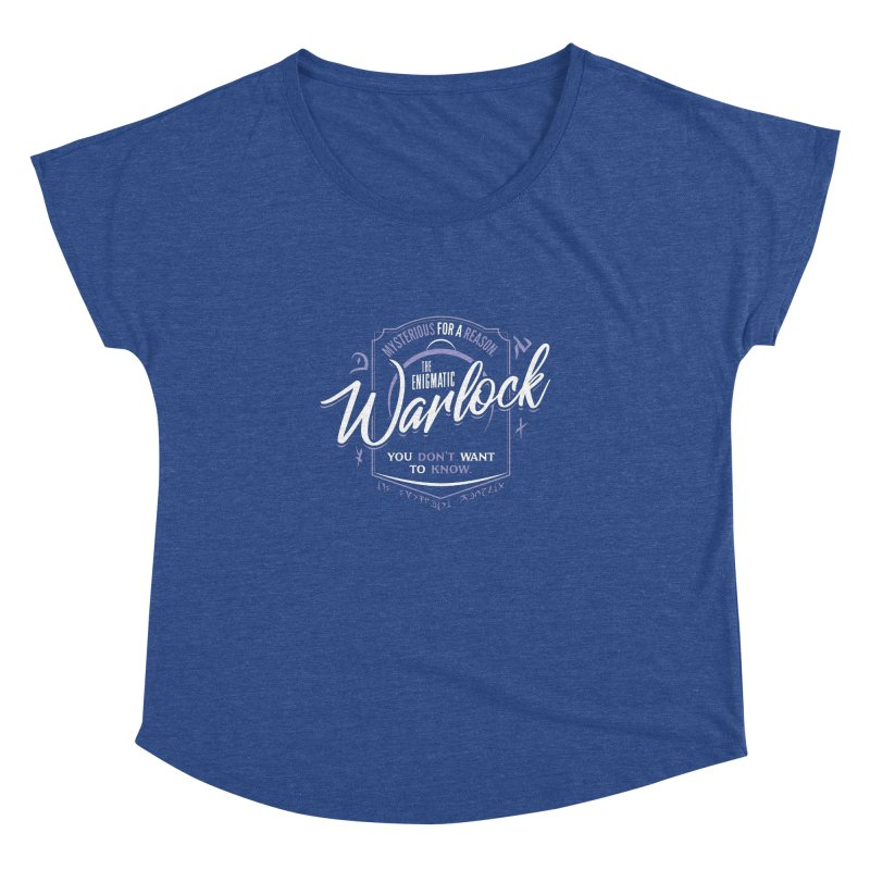 D&D Warlock Women's Dolman Scoop Neck by carlhuber's Artist Shop