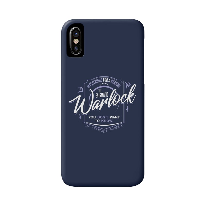 D&D Warlock Accessories Phone Case by carlhuber's Artist Shop