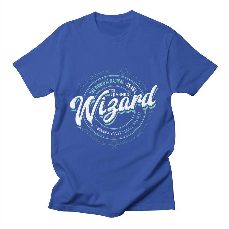 D&D Wizard Men's T-Shirt by Natural 20 Shirts
