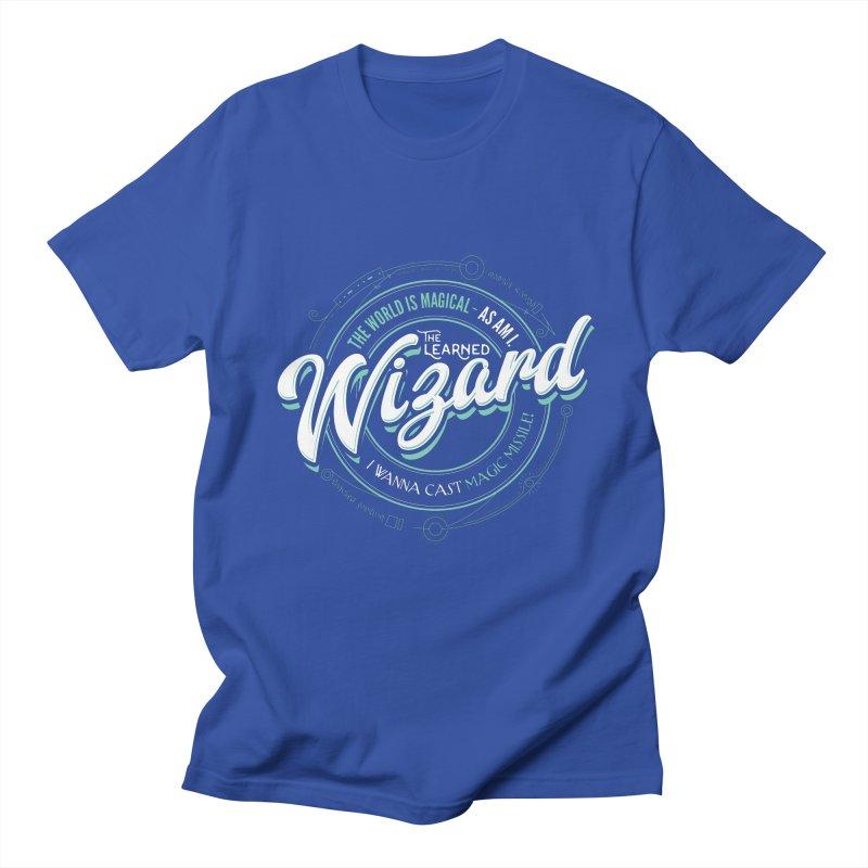 D&D Wizard Men's Regular T-Shirt by carlhuber's Artist Shop