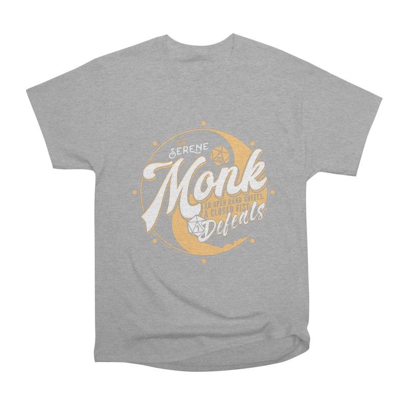 D&D Monk Women's Heavyweight Unisex T-Shirt by carlhuber's Artist Shop