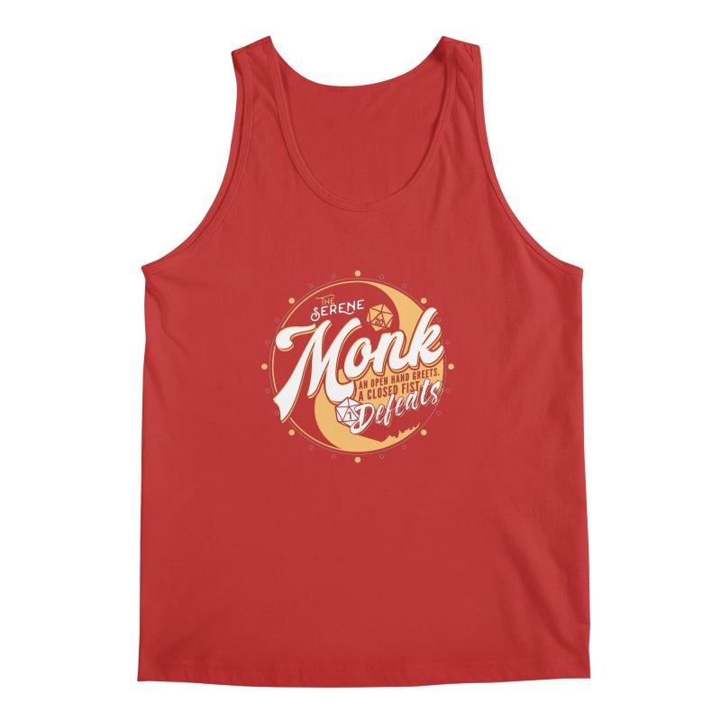 D&D Monk Men's Regular Tank by carlhuber's Artist Shop