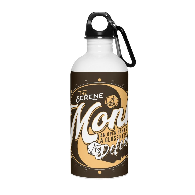 D&D Monk Accessories Water Bottle by Carl Huber's Artist Shop