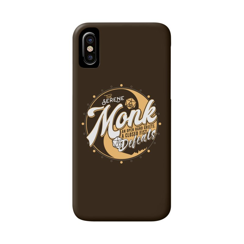 D&D Monk Accessories Phone Case by carlhuber's Artist Shop