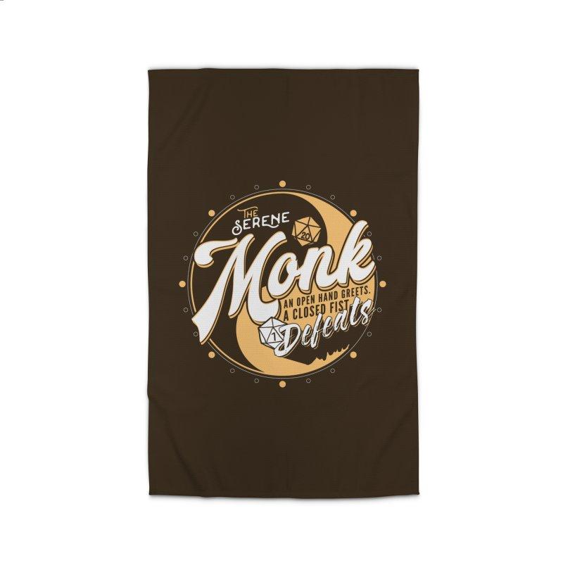 D&D Monk Home Rug by carlhuber's Artist Shop