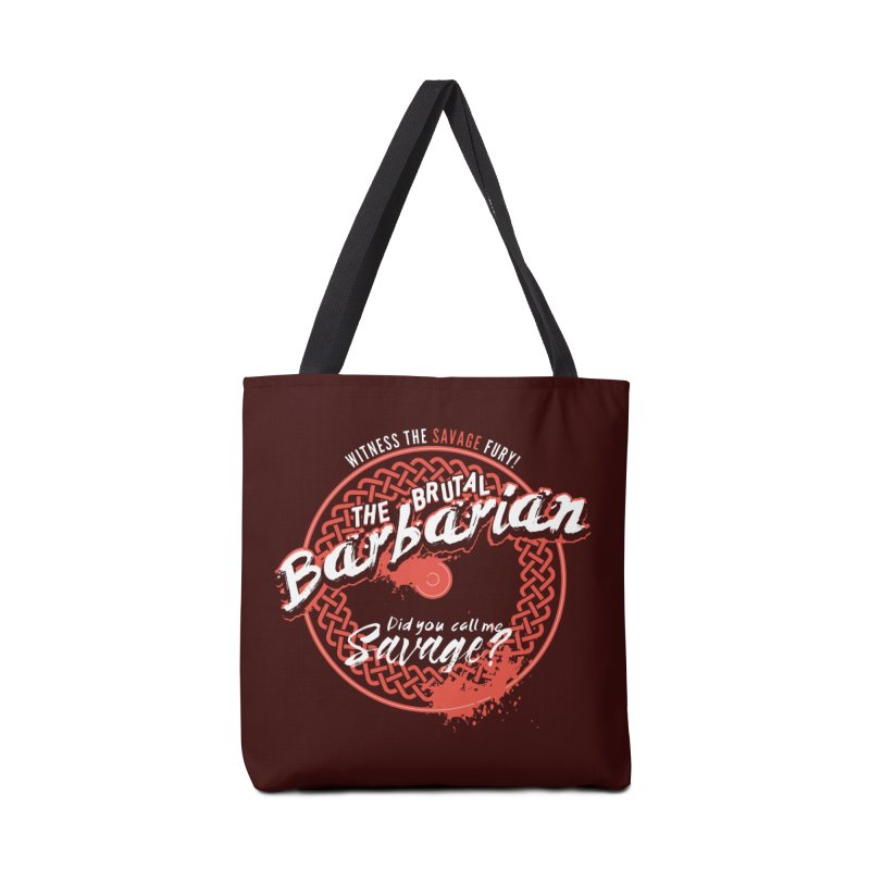 D&D Barbarian Accessories Bag by carlhuber's Artist Shop