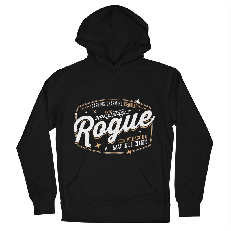 D&D Rogue Men's French Terry Pullover Hoody by Carl Huber's Artist Shop
