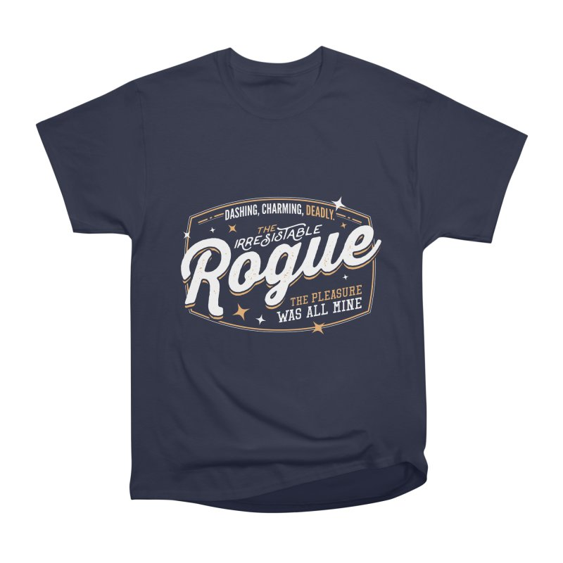D&D Rogue Men's Heavyweight T-Shirt by Carl Huber's Artist Shop
