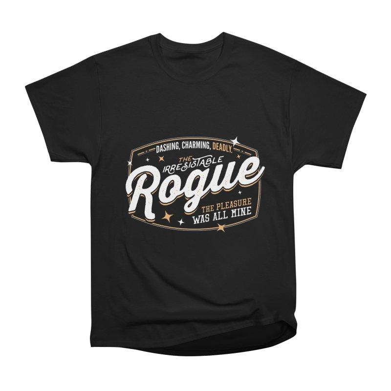 D&D Rogue Men's Heavyweight T-Shirt by carlhuber's Artist Shop