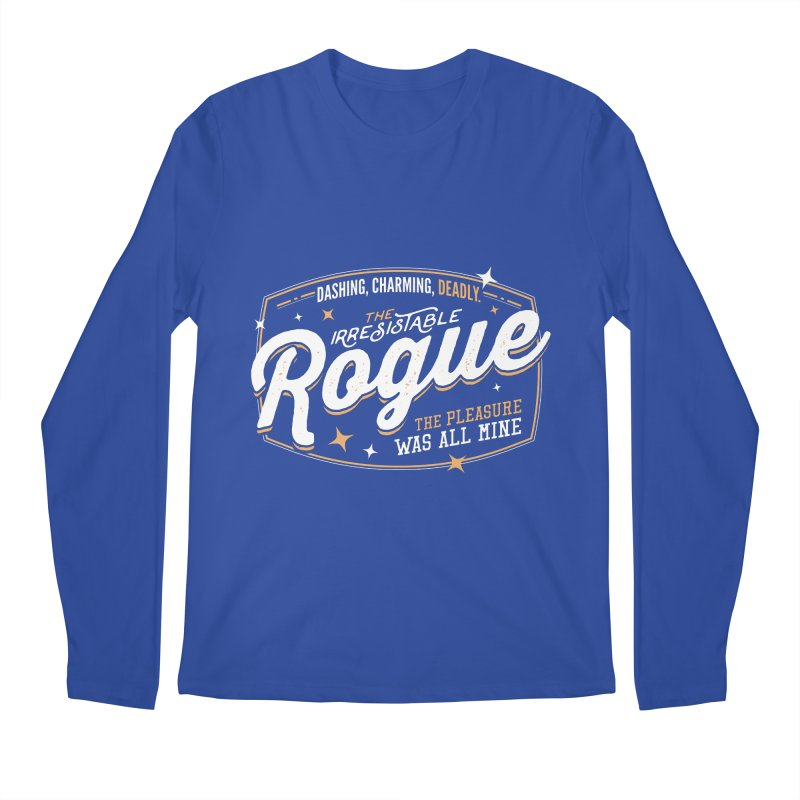 D&D Rogue Men's Regular Longsleeve T-Shirt by Carl Huber's Artist Shop