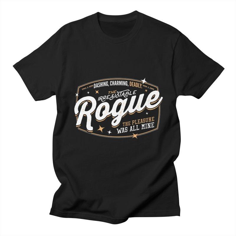 D&D Rogue Men's Regular T-Shirt by carlhuber's Artist Shop