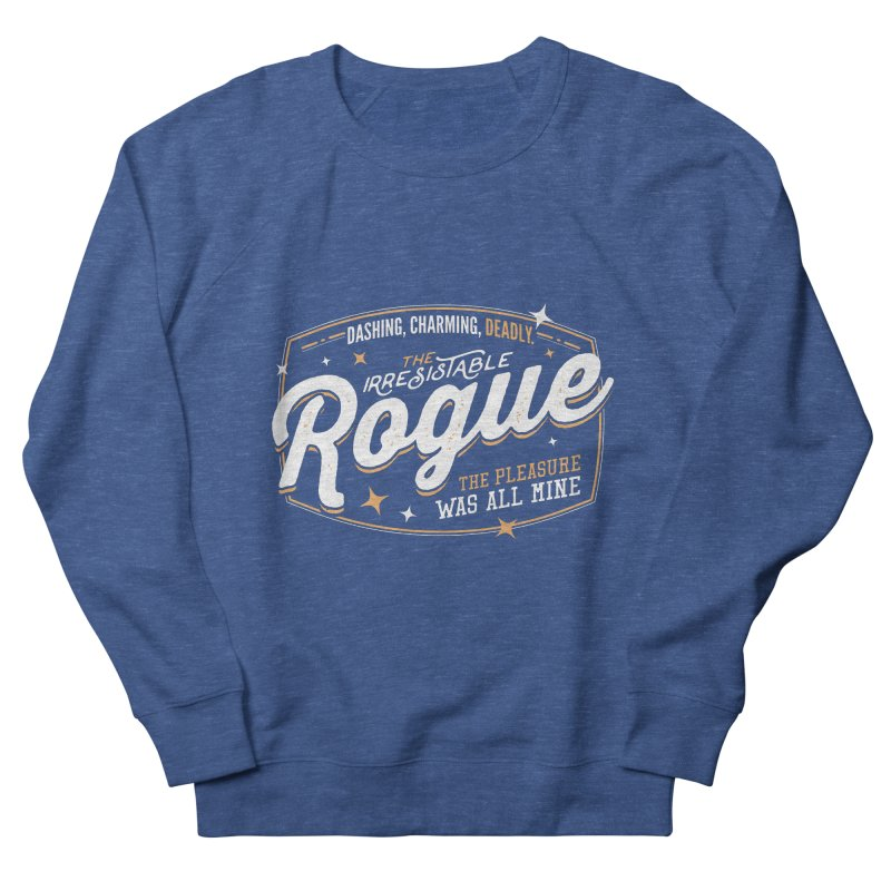 D&D Rogue Women's French Terry Sweatshirt by carlhuber's Artist Shop