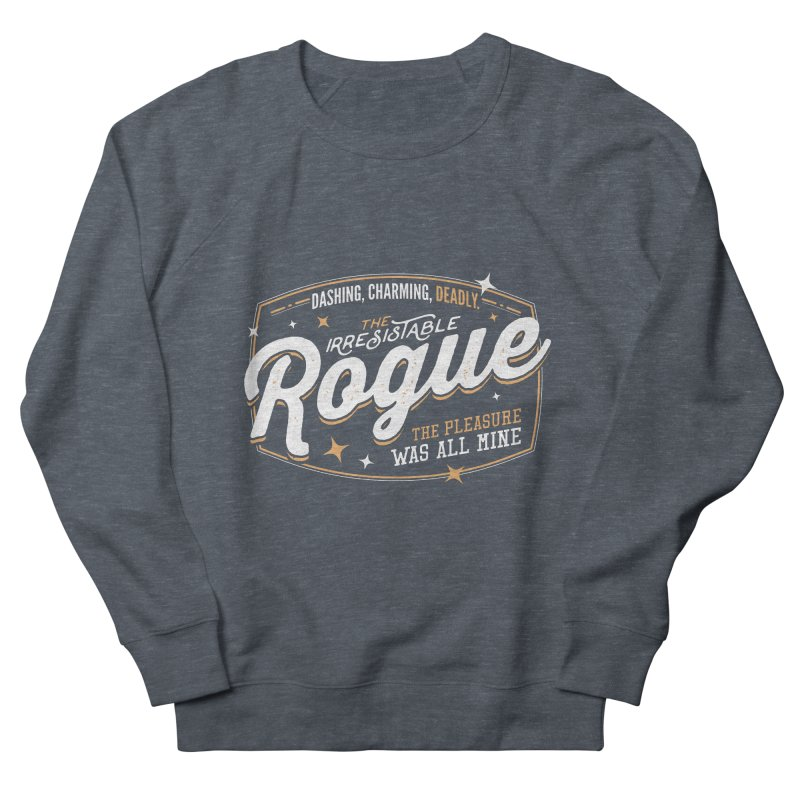 D&D Rogue Women's French Terry Sweatshirt by Carl Huber's Artist Shop