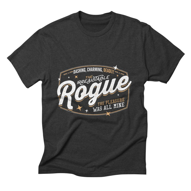 D&D Rogue Men's Triblend T-Shirt by carlhuber's Artist Shop