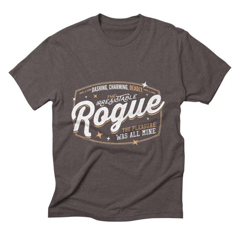 D&D Rogue Men's Triblend T-Shirt by carlhuber's Artist Shop