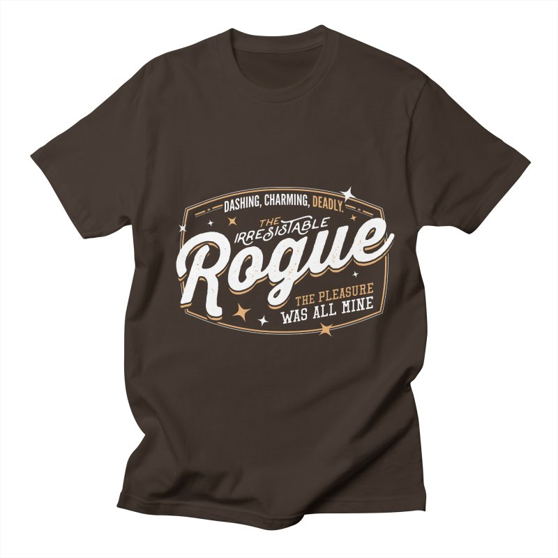 D&D Rogue Men's Regular T-Shirt by Carl Huber's Artist Shop