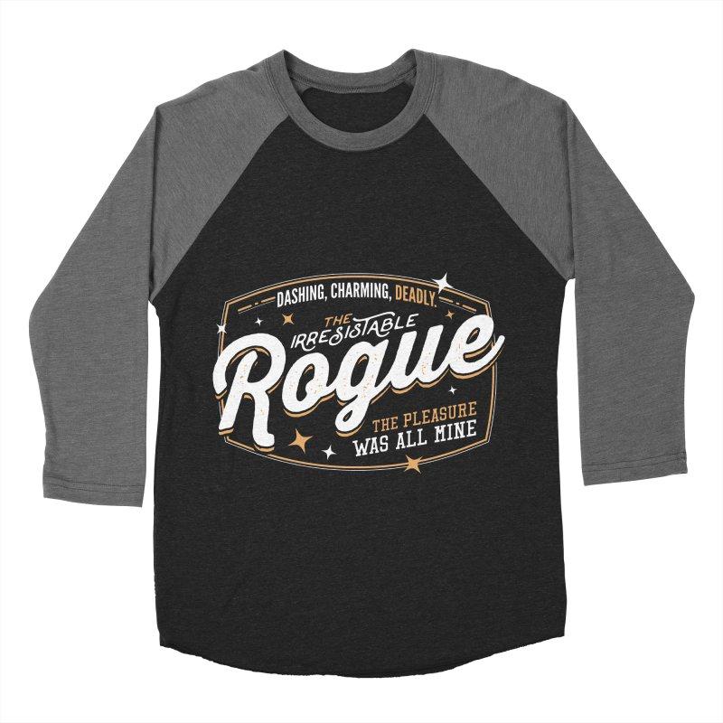 D&D Rogue Women's Baseball Triblend T-Shirt by carlhuber's Artist Shop