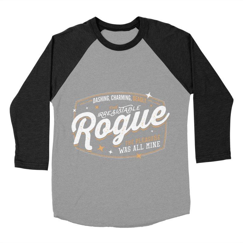 D&D Rogue Men's Baseball Triblend Longsleeve T-Shirt by Carl Huber's Artist Shop