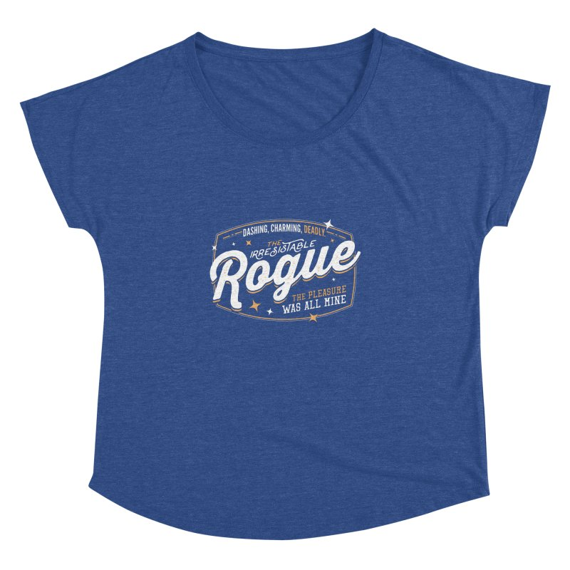 D&D Rogue Women's Dolman Scoop Neck by carlhuber's Artist Shop