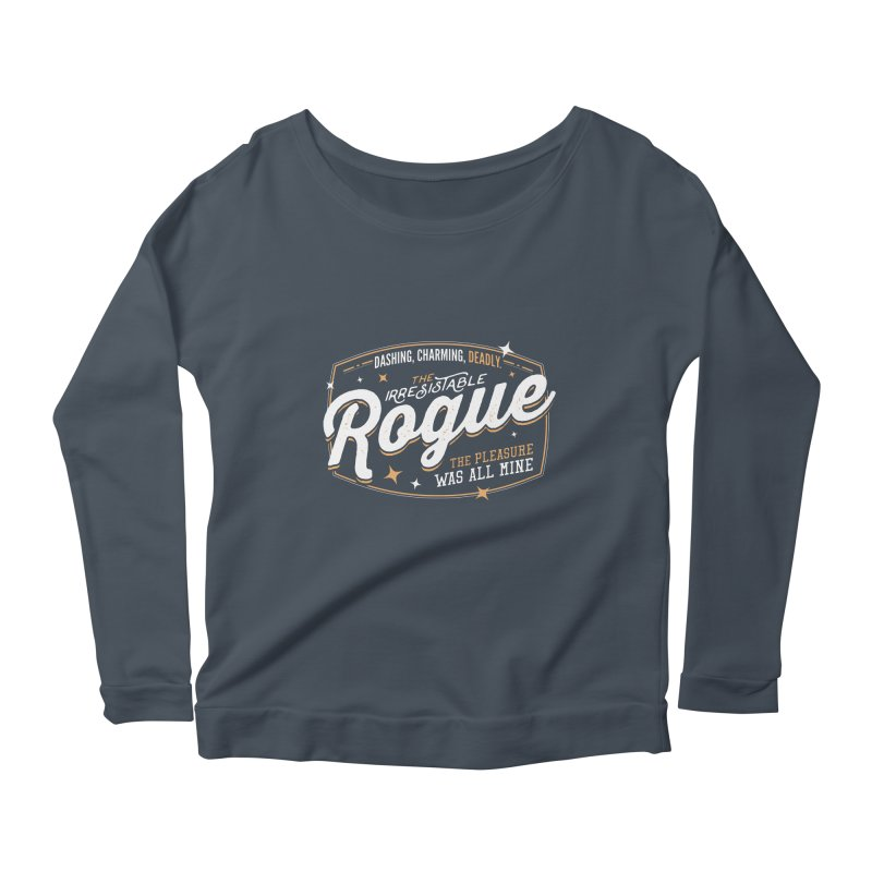 D&D Rogue Women's Scoop Neck Longsleeve T-Shirt by carlhuber's Artist Shop