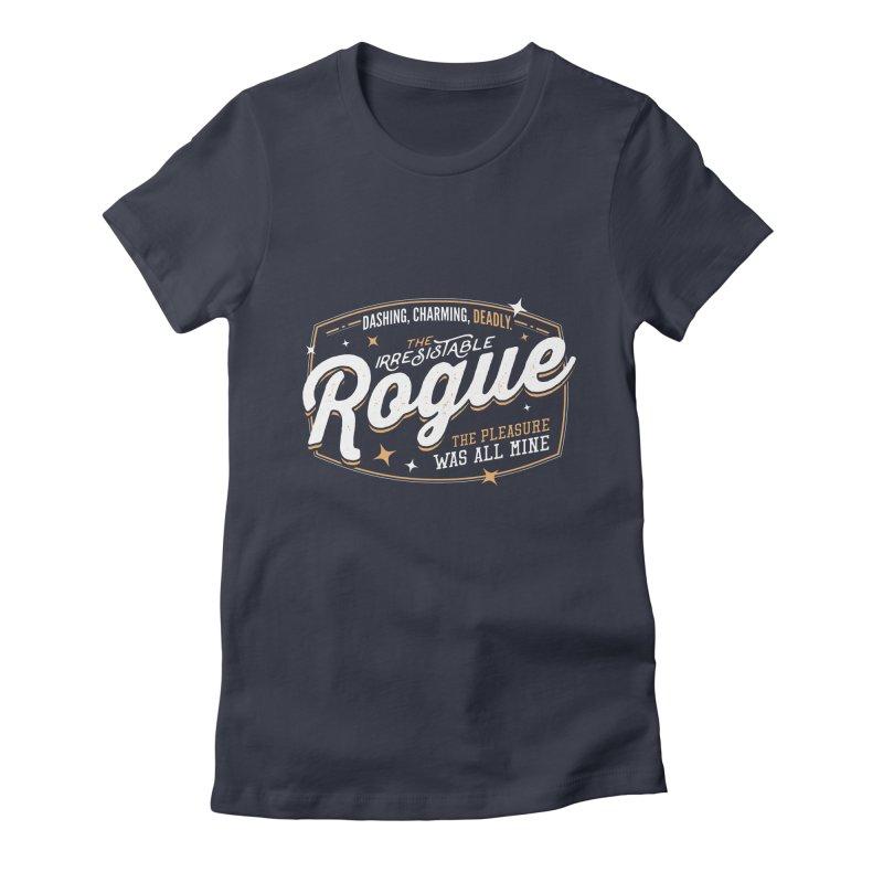 D&D Rogue Women's Fitted T-Shirt by carlhuber's Artist Shop