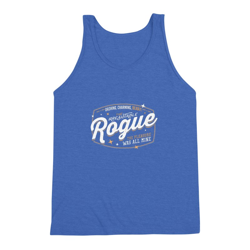 D&D Rogue Men's Triblend Tank by Carl Huber's Artist Shop
