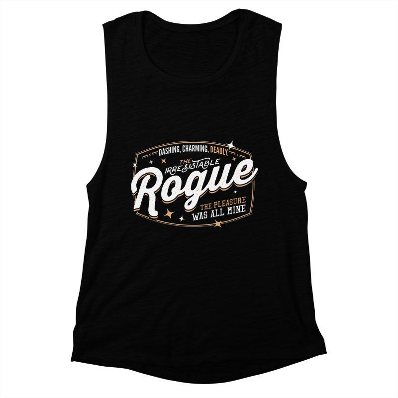 D&D Rogue Women's Muscle Tank by Carl Huber's Artist Shop