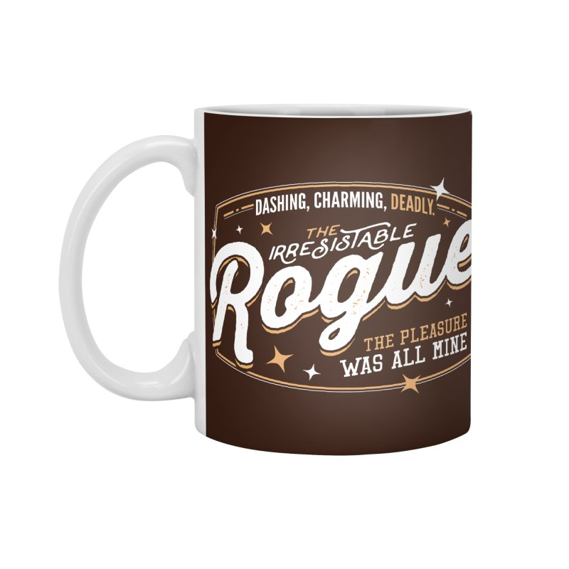 D&D Rogue Accessories Mug by carlhuber's Artist Shop