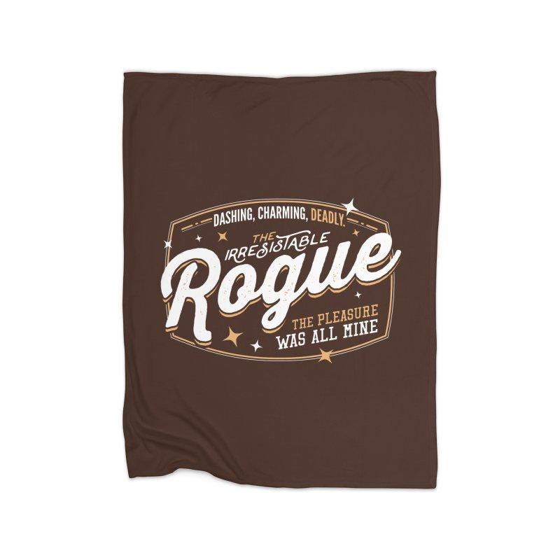 D&D Rogue Home Blanket by carlhuber's Artist Shop