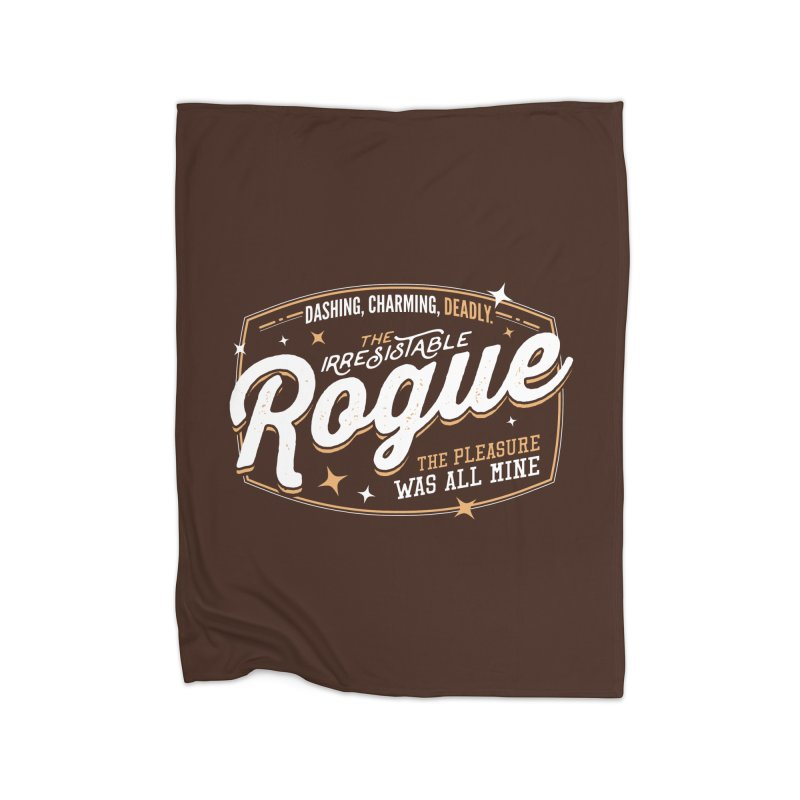 D&D Rogue Home Fleece Blanket Blanket by Carl Huber's Artist Shop