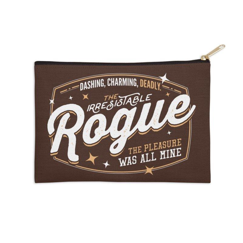 D&D Rogue Accessories Zip Pouch by carlhuber's Artist Shop