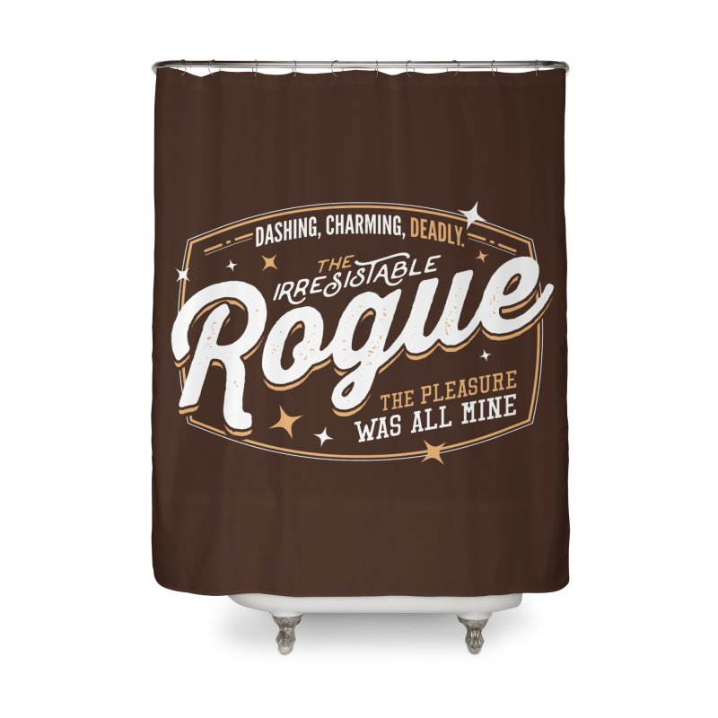 D&D Rogue Home Shower Curtain by Carl Huber's Artist Shop