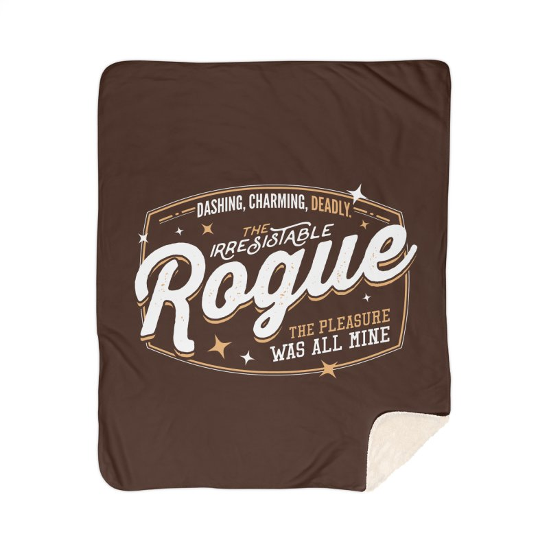 D&D Rogue Home Sherpa Blanket Blanket by Carl Huber's Artist Shop