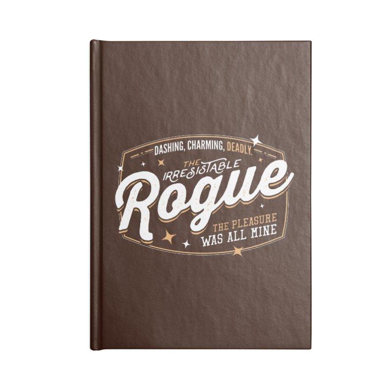 D&D Rogue Accessories Lined Journal Notebook by Carl Huber's Artist Shop