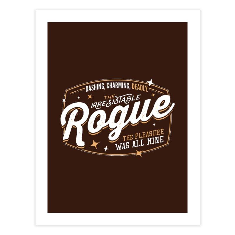 D&D Rogue Home Fine Art Print by Carl Huber's Artist Shop