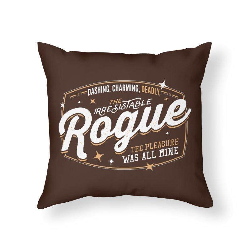 D&D Rogue Home Throw Pillow by carlhuber's Artist Shop