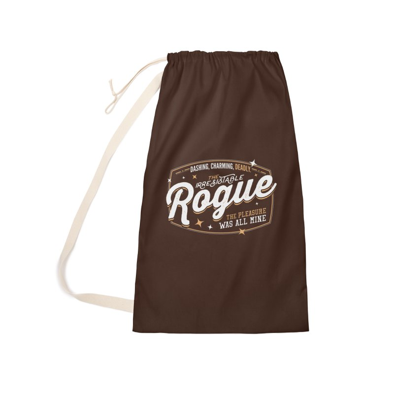 D&D Rogue Accessories Laundry Bag Bag by Carl Huber's Artist Shop