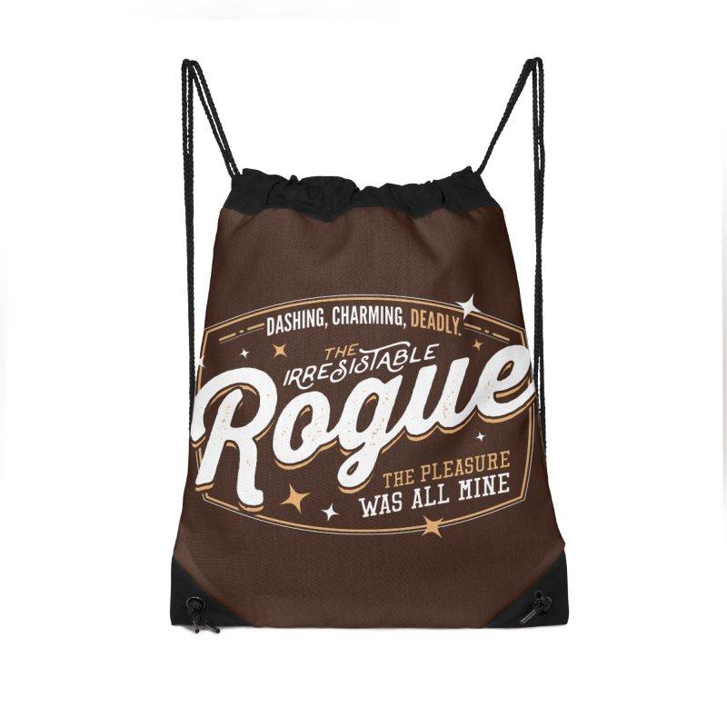 D&D Rogue Accessories Drawstring Bag Bag by Carl Huber's Artist Shop