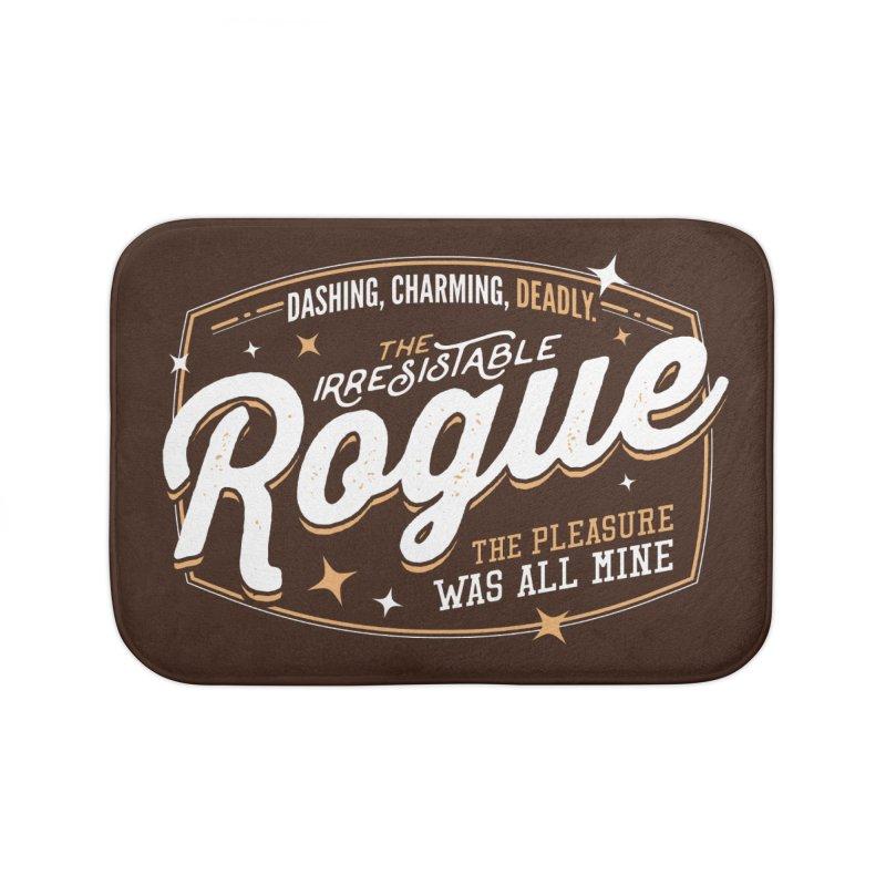 D&D Rogue Home Bath Mat by carlhuber's Artist Shop