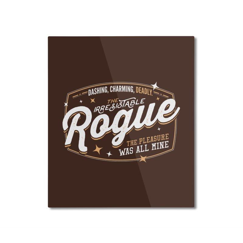 D&D Rogue Home Mounted Aluminum Print by carlhuber's Artist Shop
