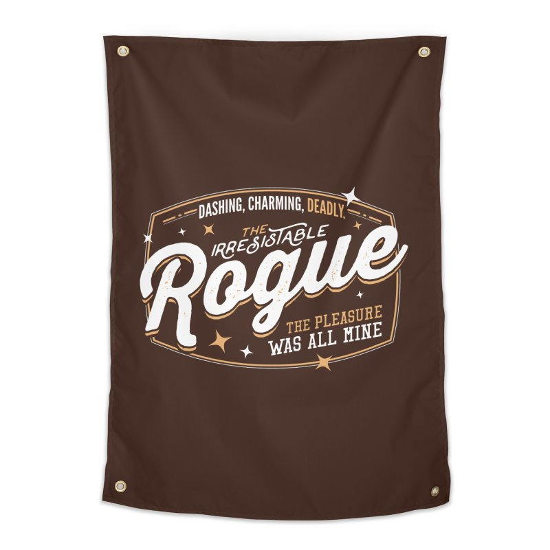D&D Rogue Home Tapestry by Carl Huber's Artist Shop