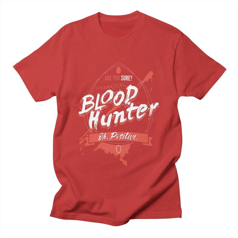 D&D Blood Hunter Men's T-Shirt by Natural 20 Shirts