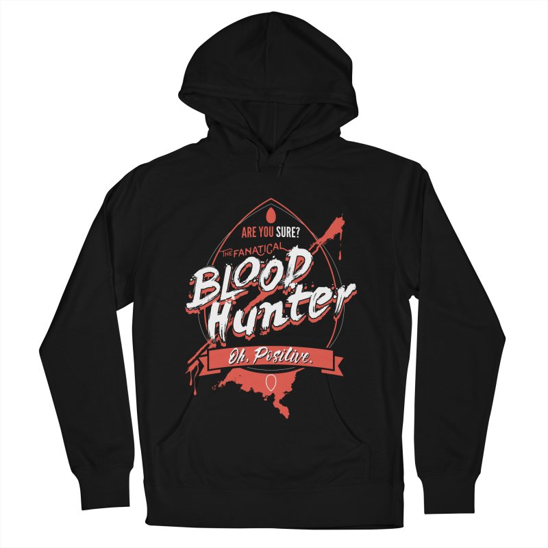 D&D Blood Hunter Women's French Terry Pullover Hoody by Carl Huber's Artist Shop