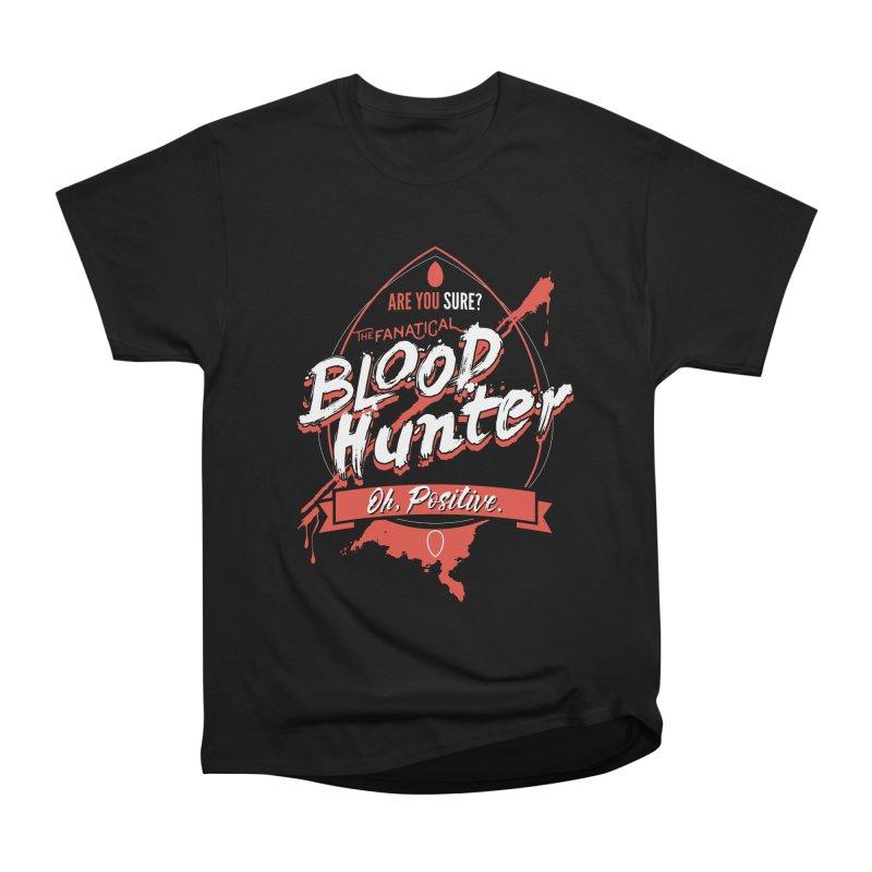D&D Blood Hunter Women's Heavyweight Unisex T-Shirt by Carl Huber's Artist Shop