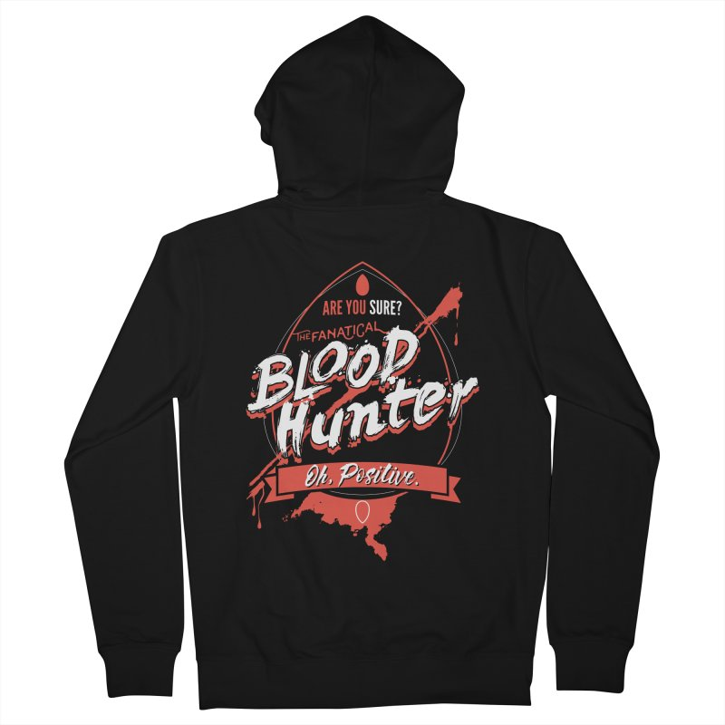 D&D Blood Hunter Women's French Terry Zip-Up Hoody by carlhuber's Artist Shop