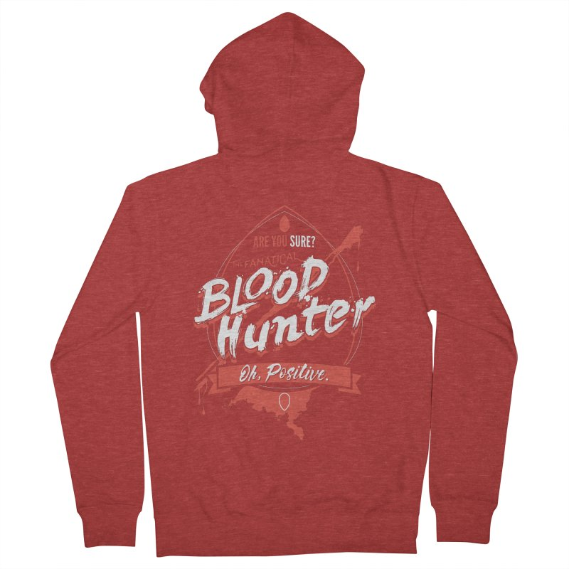 D&D Blood Hunter Men's French Terry Zip-Up Hoody by carlhuber's Artist Shop