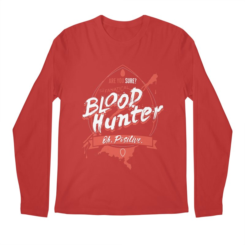 D&D Blood Hunter Men's Regular Longsleeve T-Shirt by Carl Huber's Artist Shop